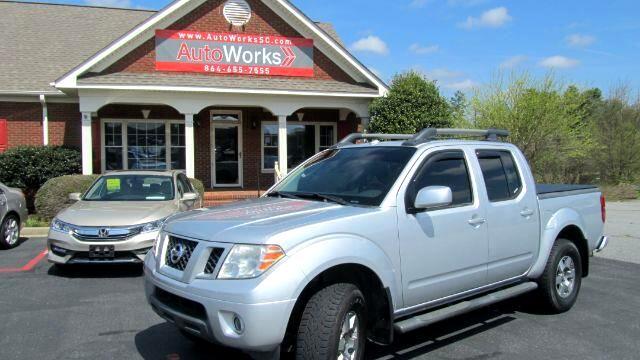 2010 Nissan Frontier PRO-4X Crew Cab 4WD
