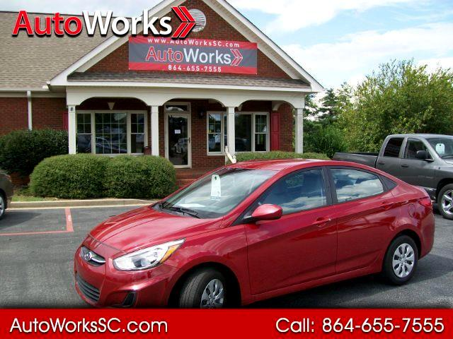 Hyundai Accent SE 4-Door 6M 2017