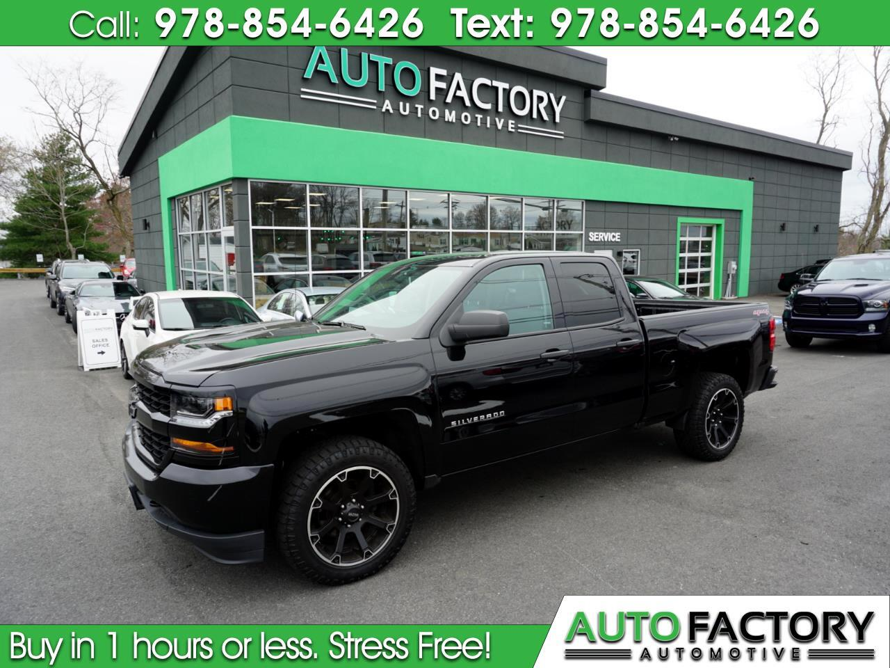 2016 Chevrolet Silverado 1500 4WD Double Cab Custom