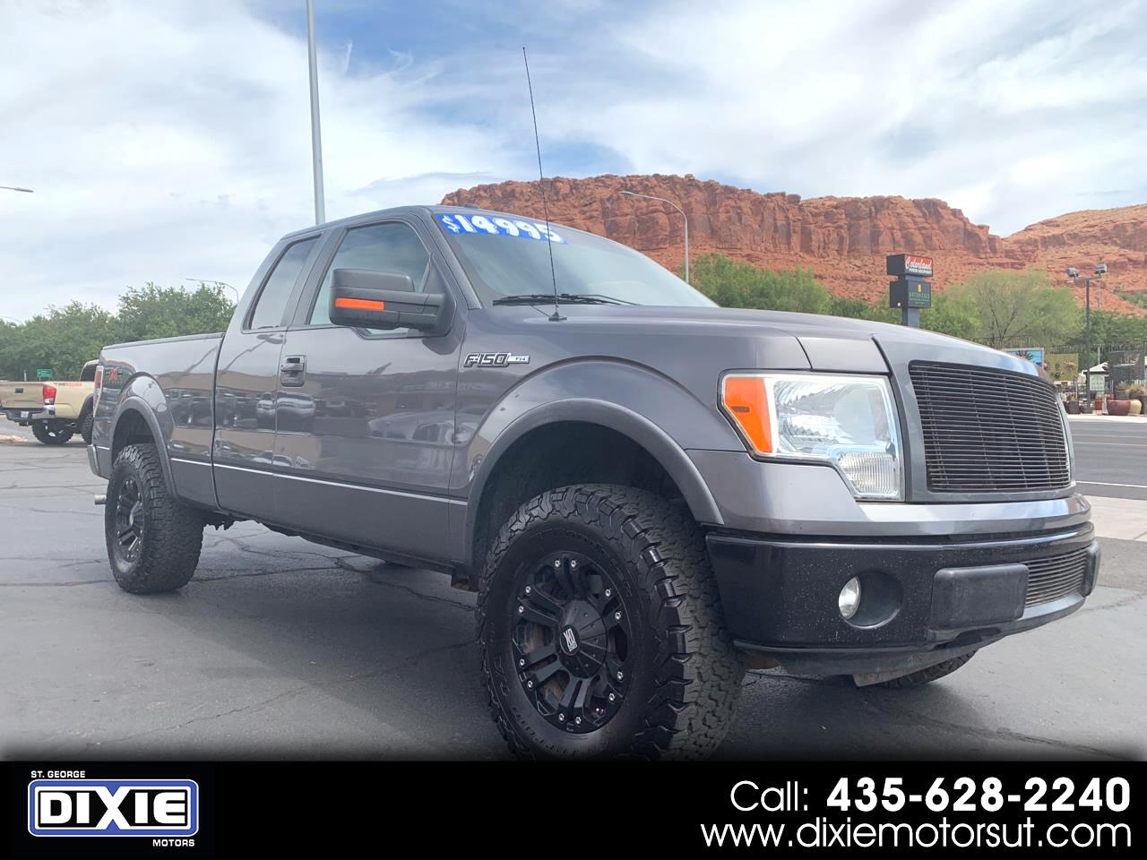 "2010 Ford F-150 4WD SuperCab 145"" FX4"