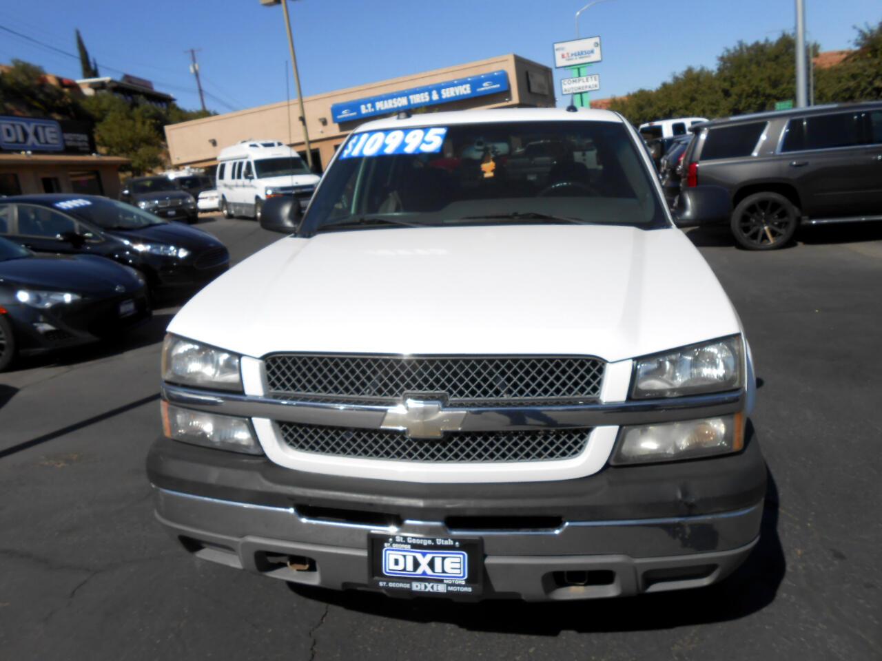 2005 Chevrolet Silverado 1500 HD LS Crew Cab 4WD