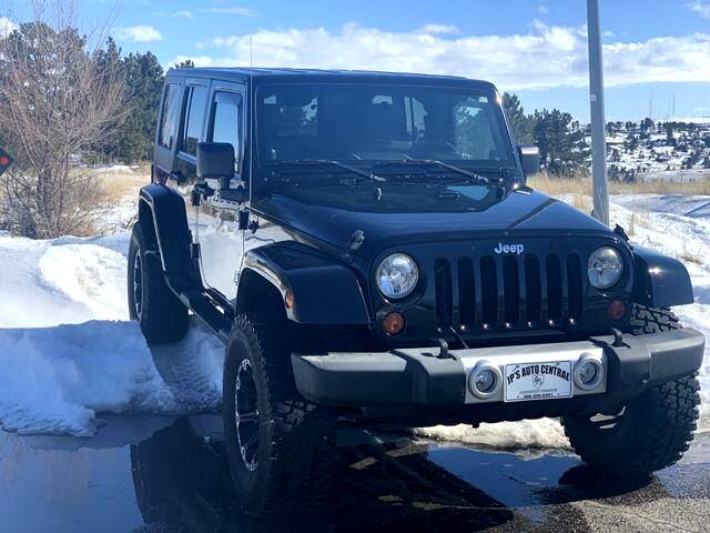 2010 Jeep Wrangler Unlimited Sahara Sport Utility 4D