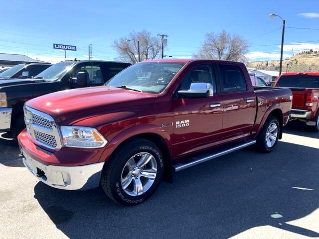 2015 RAM 1500 Laramie Pickup 4D 5 1/2 ft
