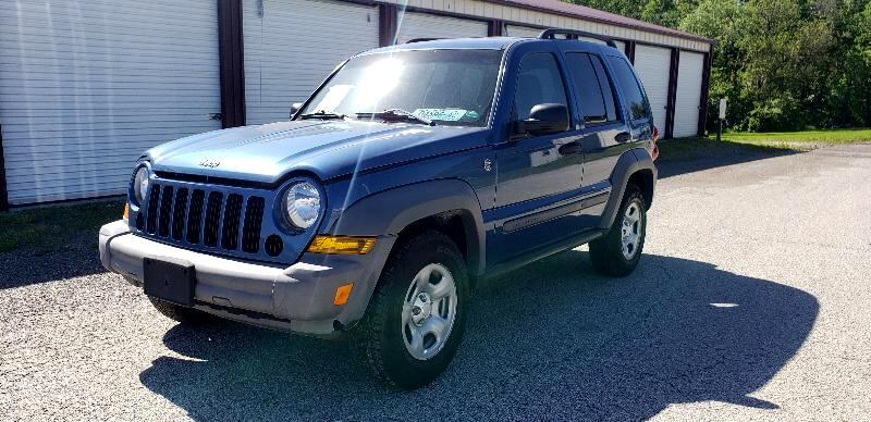 2006 Jeep Liberty  for sale VIN: 1J4GL48K76W149038