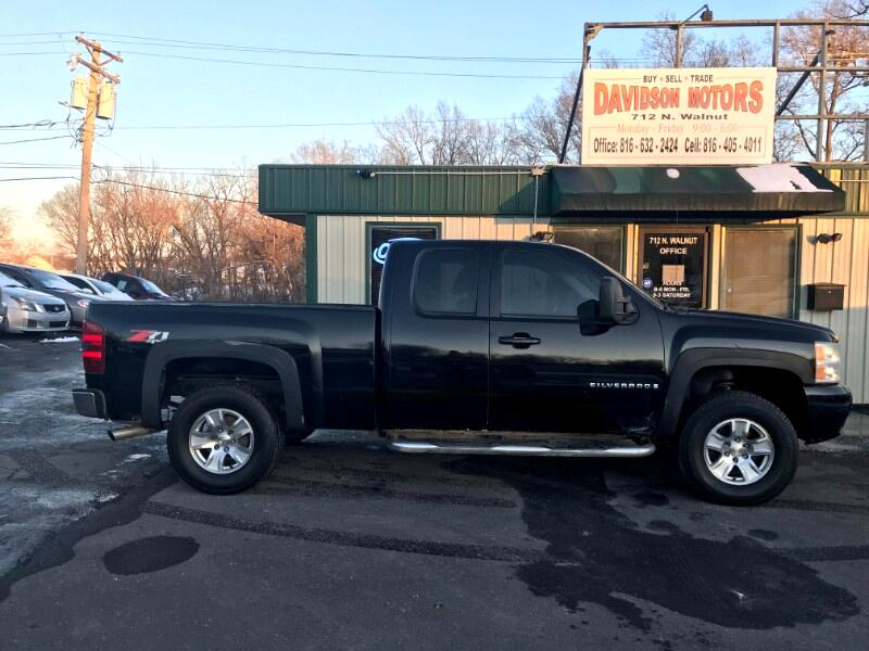 Chevrolet Silverado 1500 Work Truck Extended Cab 4WD 2007