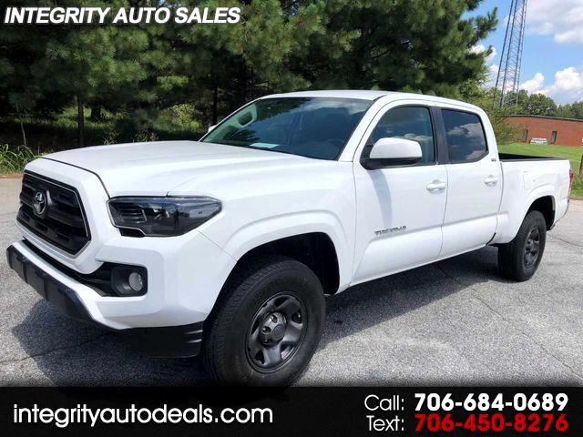 2016 Toyota Tacoma SR5 Double Cab Super Long Bed V6 6AT 2WD