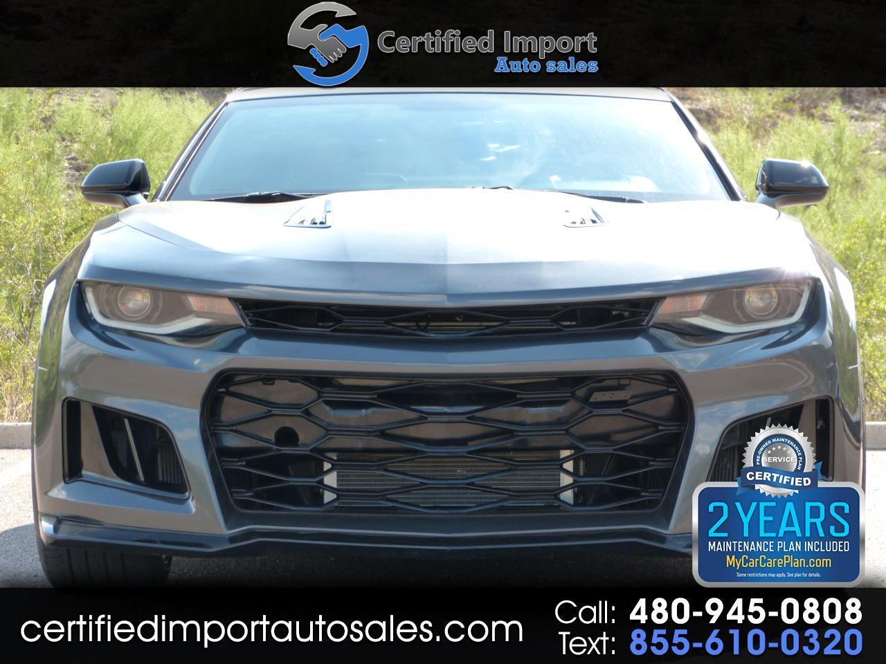Chevrolet Camaro 1SS Coupe 6M 2017