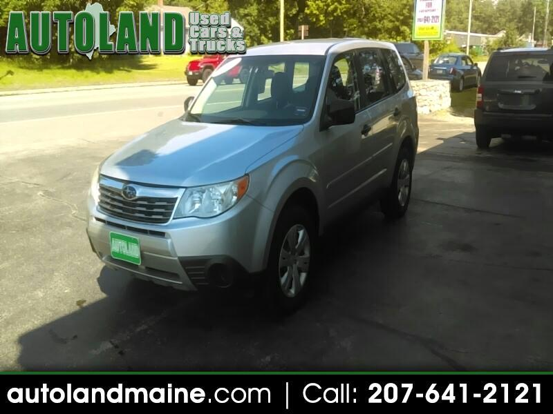 2009 Subaru Forester (Natl) 4dr 2.5 X Manual