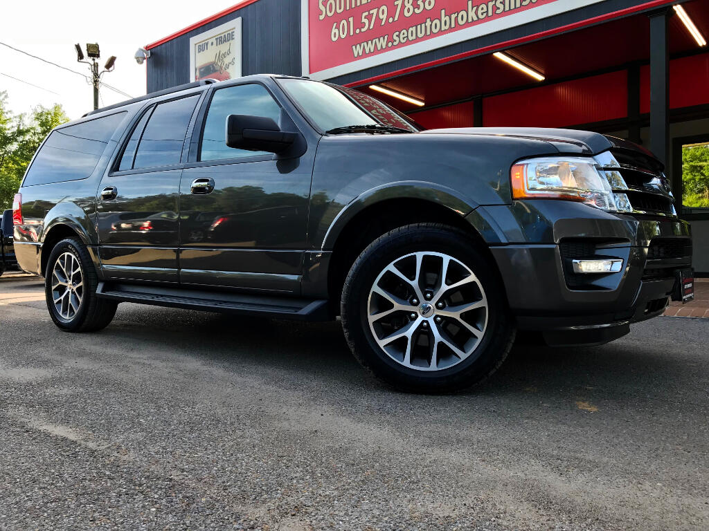 2015 Ford Expedition EL XLT 2WD W/ LEATHER AND NAVIGATION
