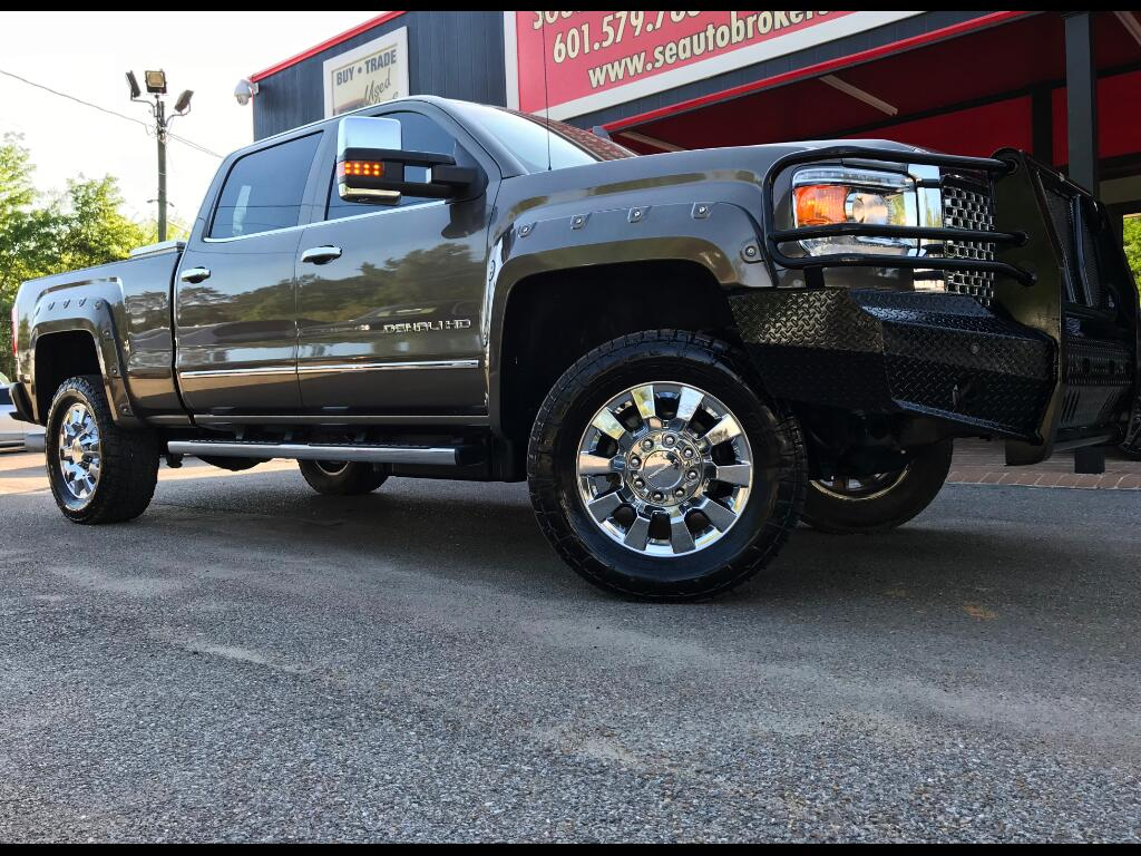 2015 GMC Sierra 2500HD DENALI CREW CAB SHORT BED 4WD LEVELED