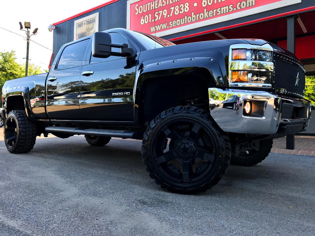 2015 Chevrolet Silverado 2500HD LTZ CREW CAB 4WD CUSTOM LIFTED DPF DELETED