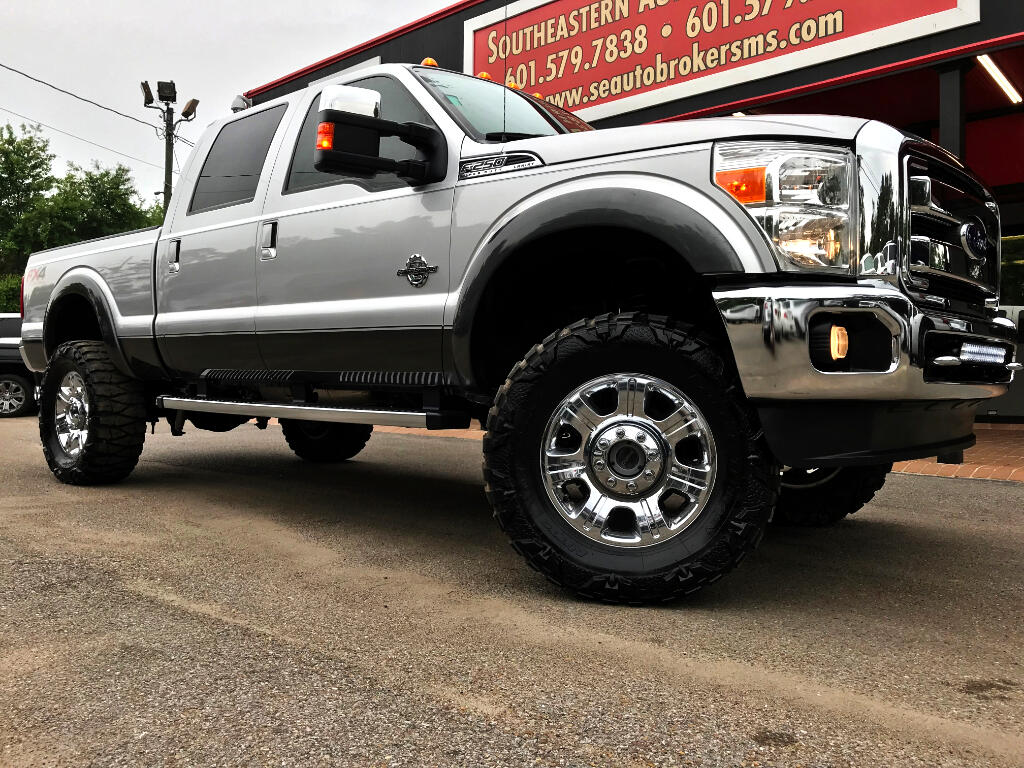 2015 Ford F-250 SD LARIAT CREW CAB SHORT BED 4WD CUSTOM LIFTED