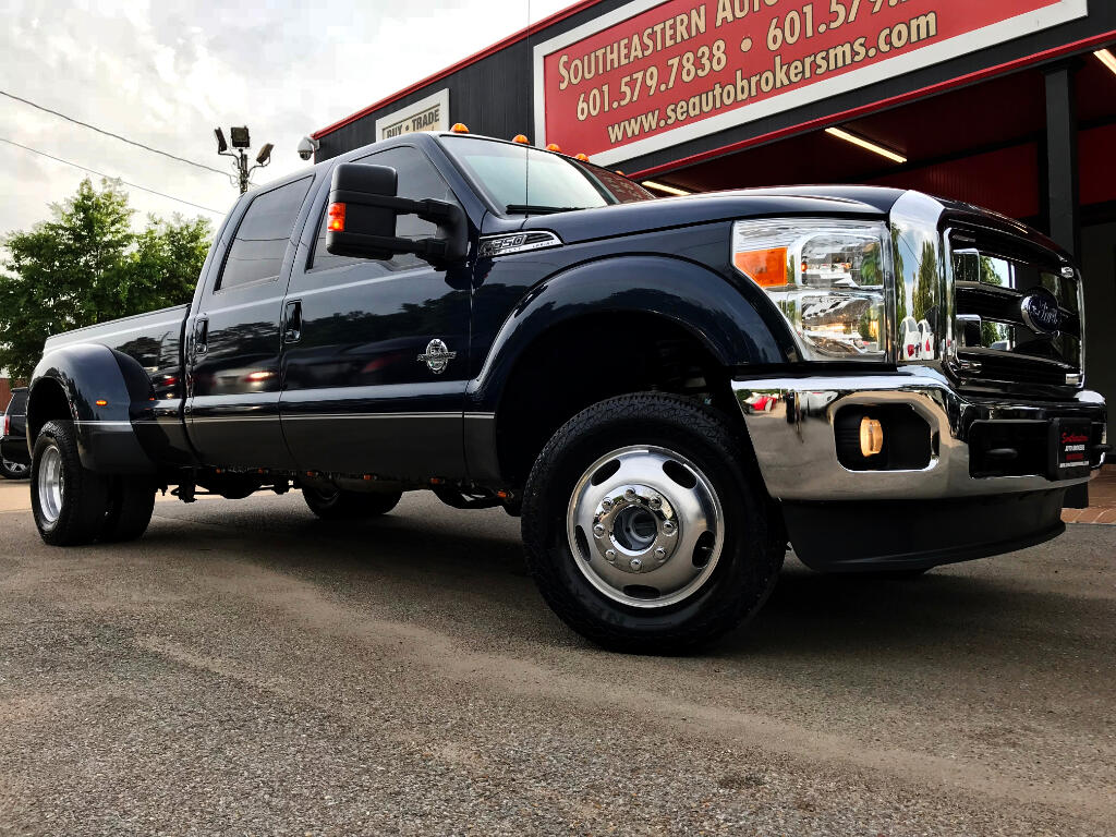 2015 Ford F-350 SD Lariat Crew Cab Long Bed DRW 4WD