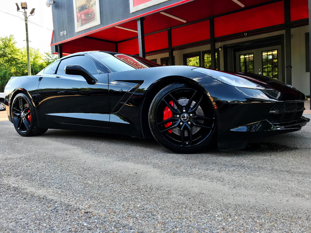 2014 Chevrolet Corvette Stingray Z51 3LT COUPE AUTOMATIC LMR BUILT
