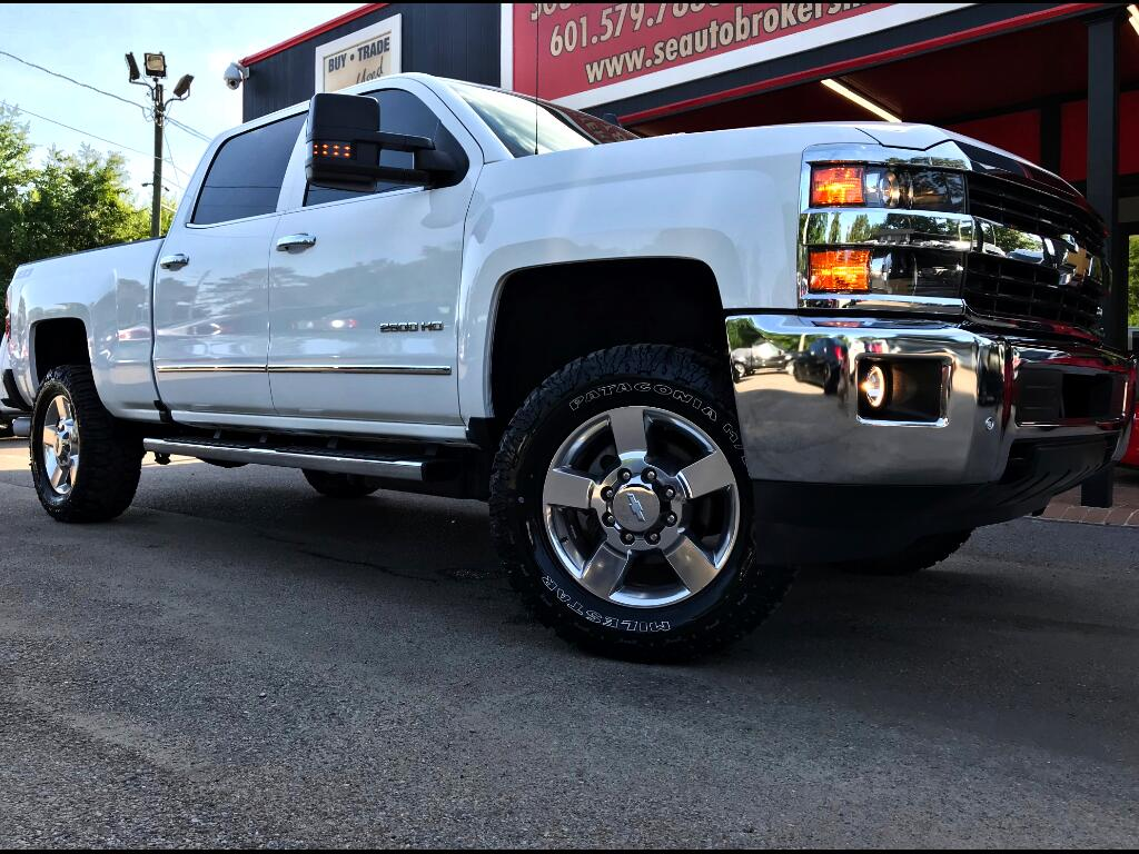 2016 Chevrolet Silverado 2500HD LTZ CREW CAB SHORT BED 4WD CUSTOM LEVELED