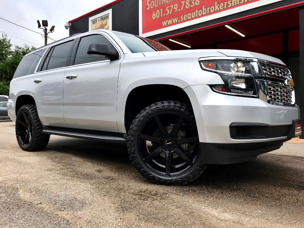 2015 Chevrolet Tahoe LT 4WD CUSTOM LEVELED