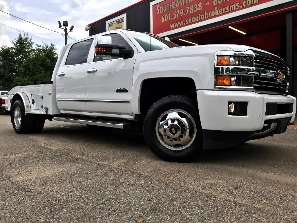 2015 Chevrolet Silverado 3500HD LTZ CREW CAB 4WD HIGH COUNTRY WESTERN HAULER