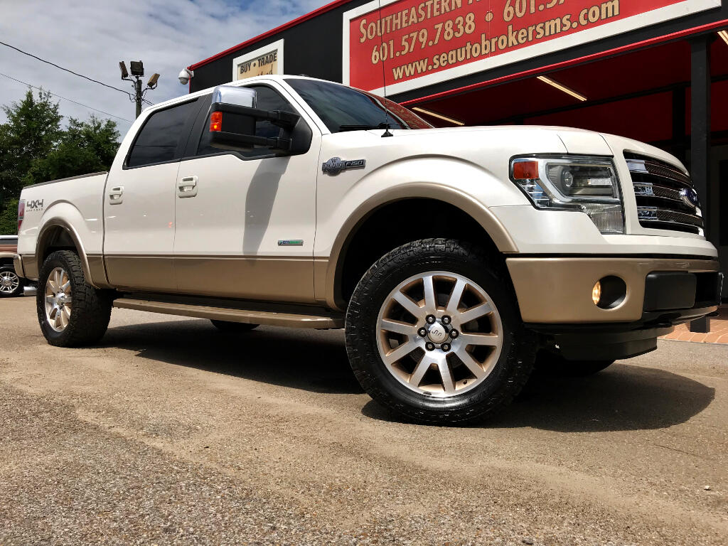 2013 Ford F-150 KING RANCH CREW CAB SHORT BED 4WD LEVELED