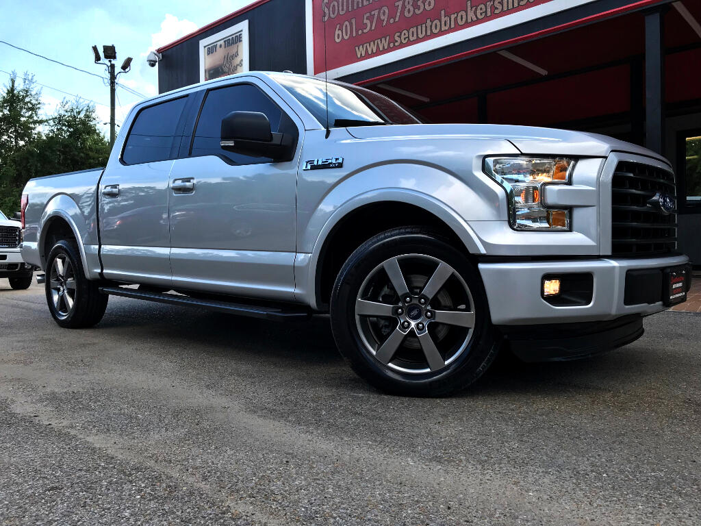 2015 Ford F-150 SPORT CREW CAB SHORT BED 2WD