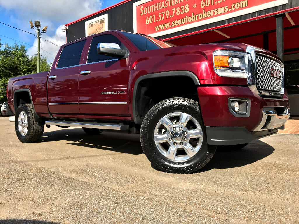2016 GMC Sierra 2500HD DENALI CREW CAB SHORT BED 4WD LEVELED