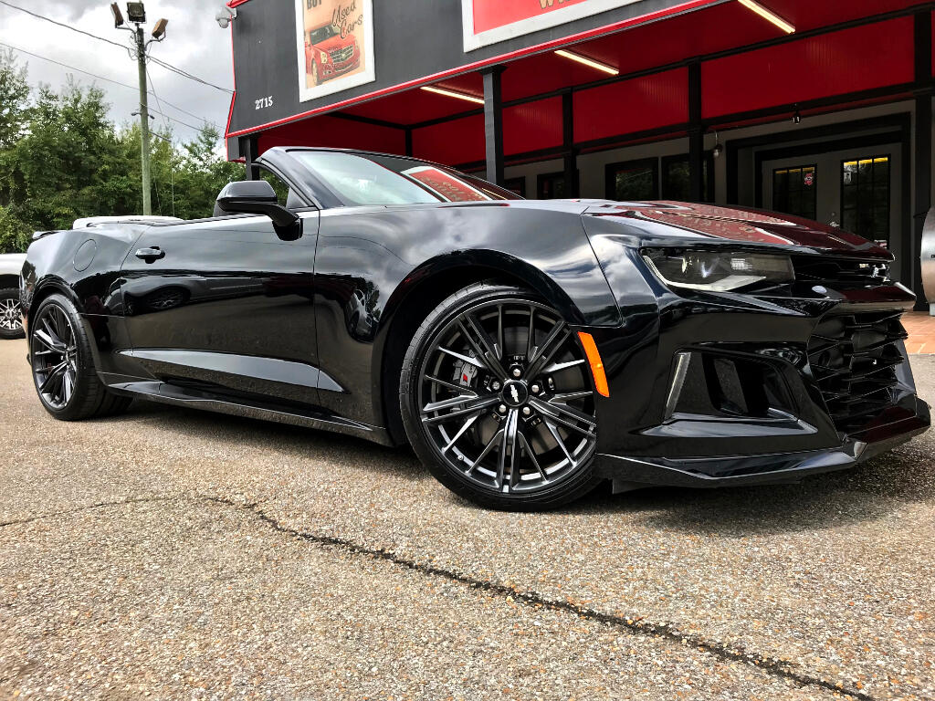 2017 Chevrolet Camaro ZL1 CONVERTIBLE SUPERCHARGED LT4