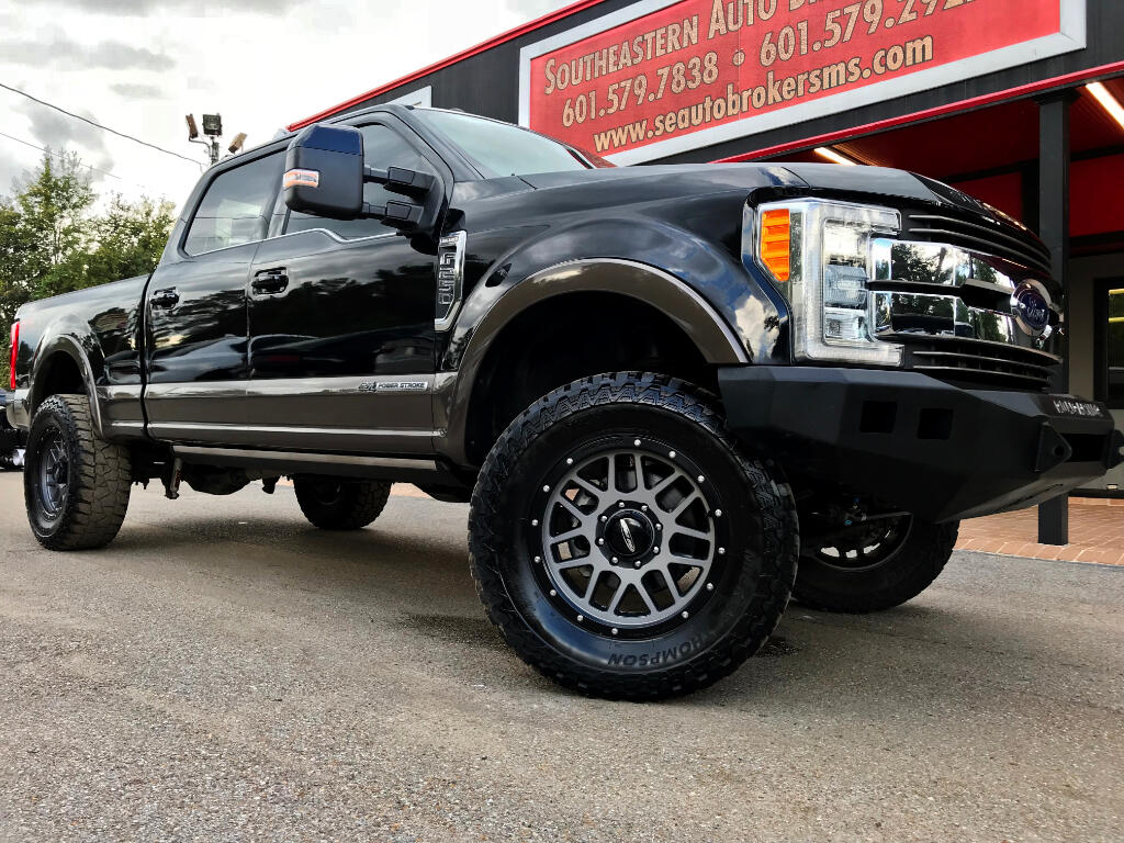 2017 Ford F-250 SD KING RANCH CREW CAB 4WD CUSTOM LEVELED