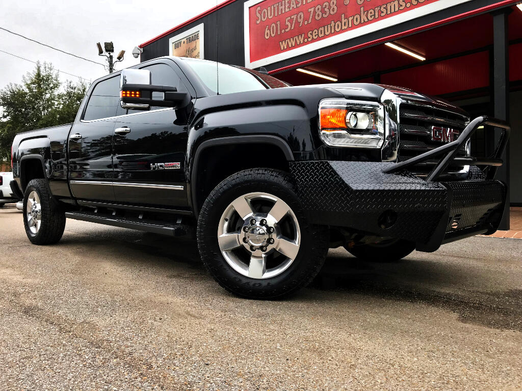 2016 GMC Sierra 3500HD SLT ALL-TERRAIN CREW CAB SHORT BED 4WD