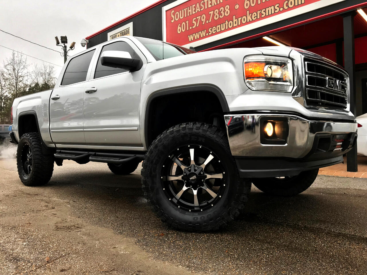 2015 GMC Sierra 1500 SLE CREW CAB SHORT BED 2WD CUSTOM LIFTED