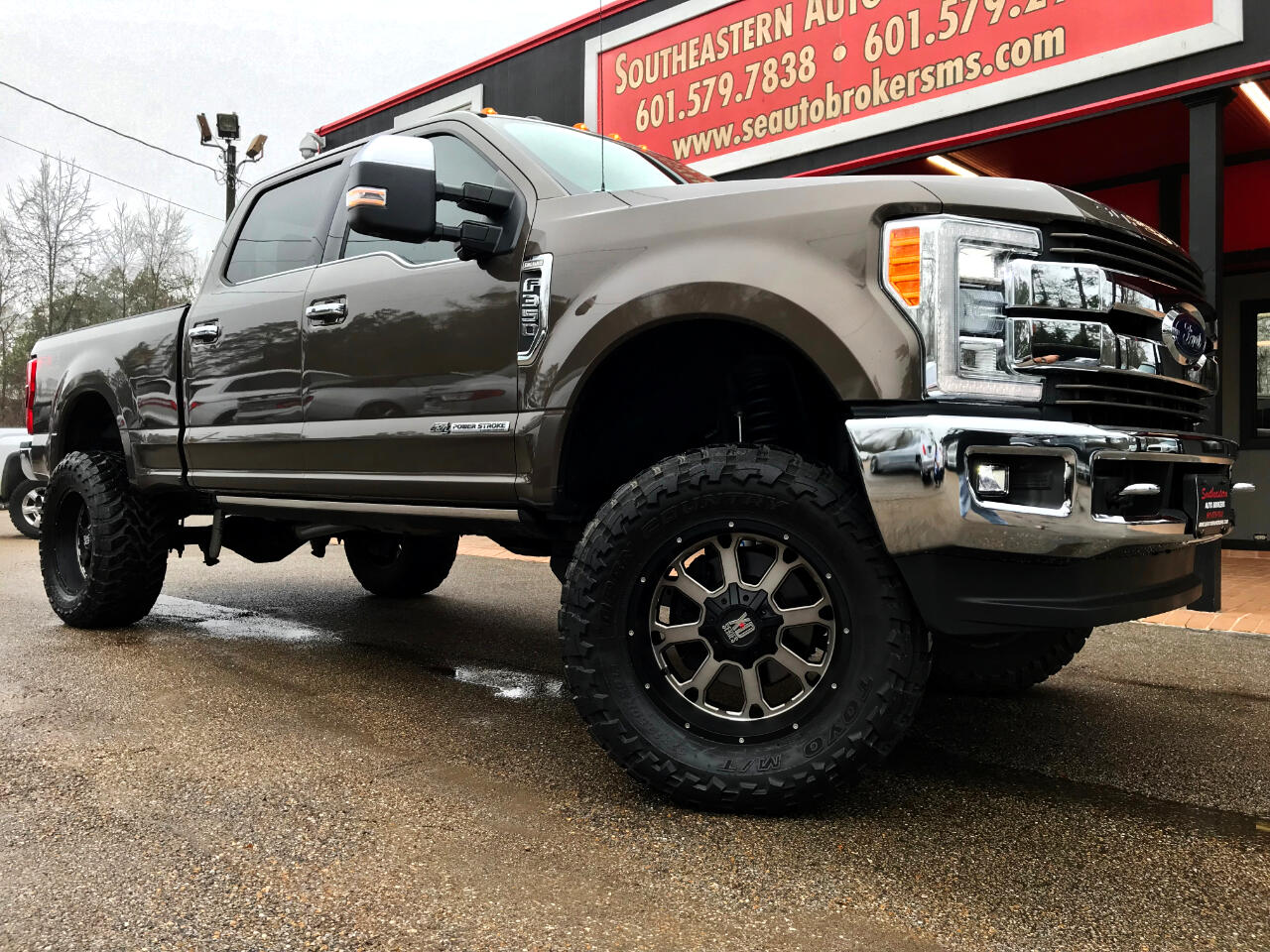 2017 Ford F-350 SD KING RANCH CREW CAB SHORT BED 4WD CUSTOM LIFTED