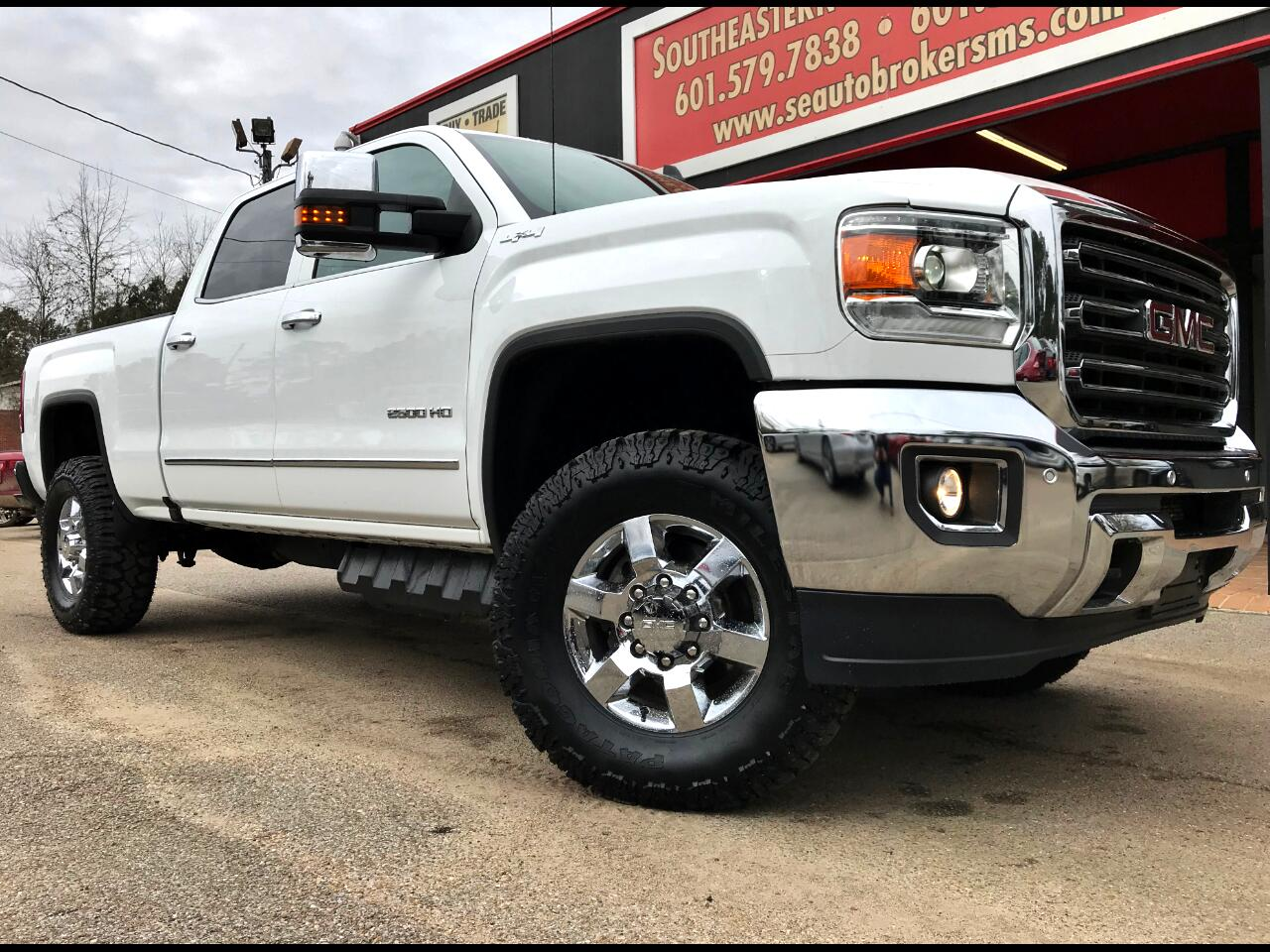 2018 GMC Sierra 2500HD SLT CREW CAB SHORT BED 4WD CUSTOM LEVELED