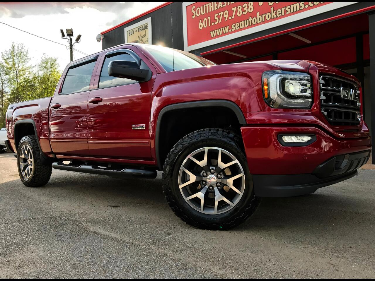 2018 GMC Sierra 1500 SLT ALL TERRAIN CREW CAB SHORT BED 4WD LEVELED