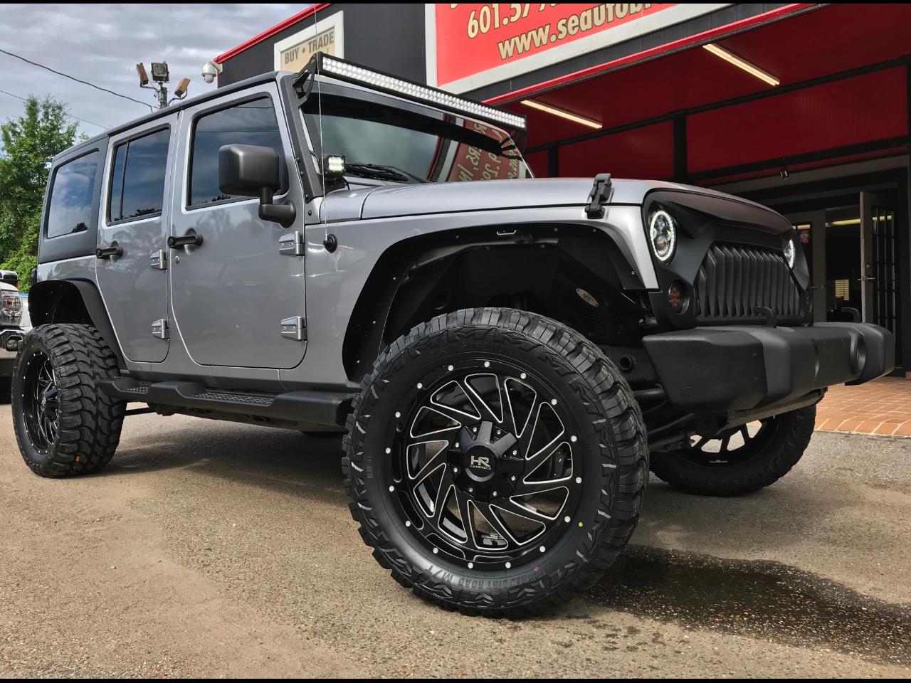 2017 Jeep Wrangler UNLIMITED SPORT 4WD CUSTOM LEVELED