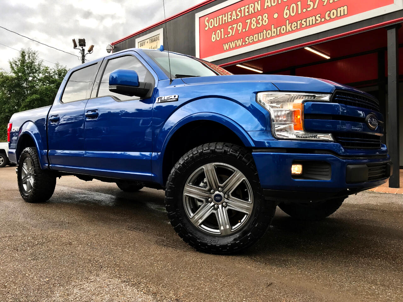 2018 Ford F-150 LARIAT CREW CAB SHORT BED 4WD LEVELED