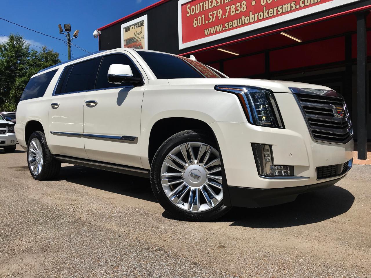 2015 Cadillac Escalade ESV Platinum 2WD
