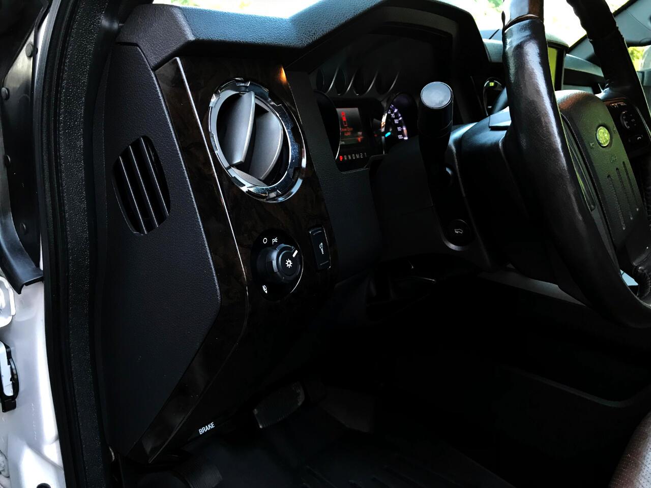2015 Ford F-250 SD PLATINUM CREW CAB SHORT BED 4WD CUSTOM LEVELED