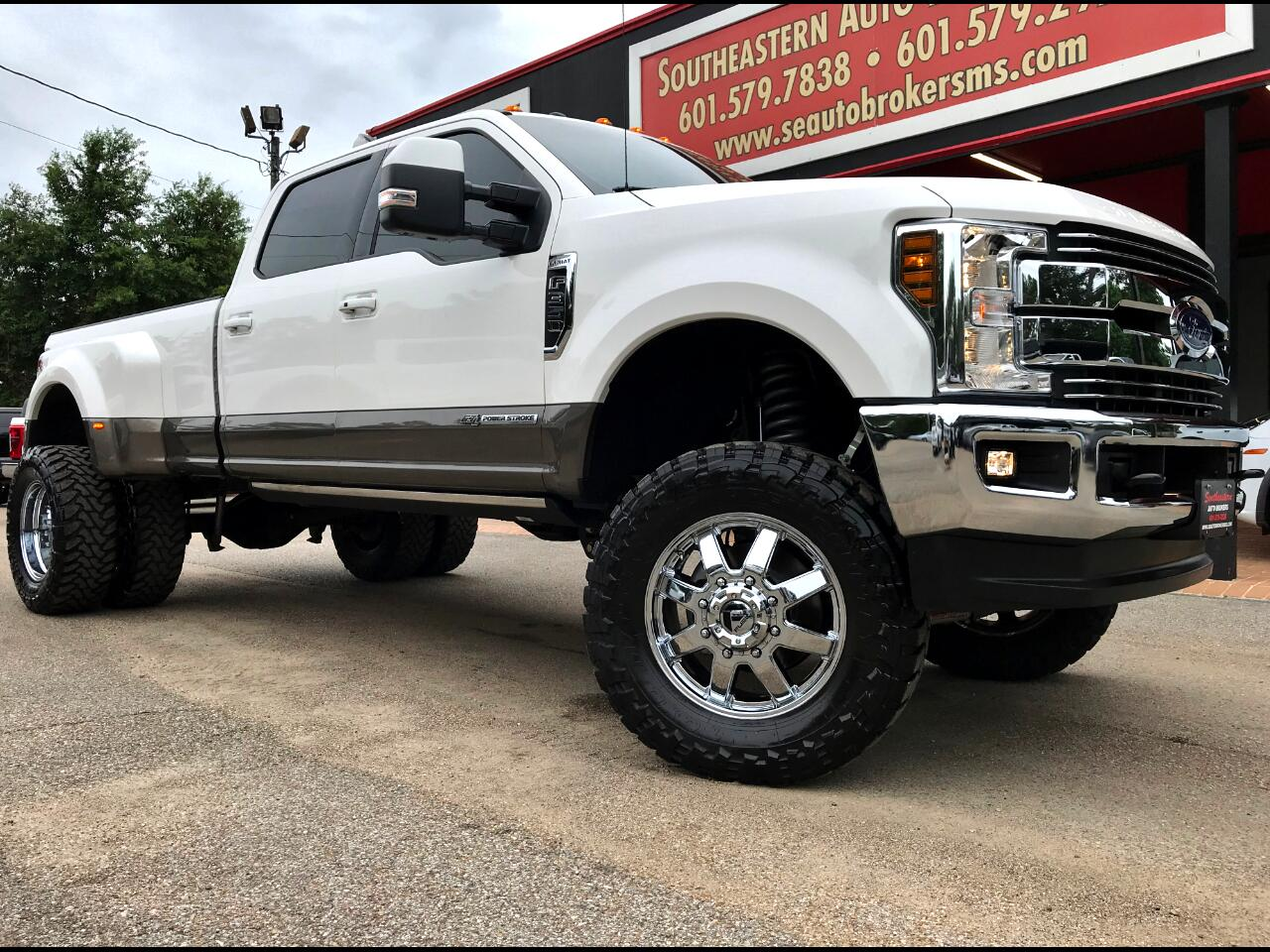 2018 Ford F-350 SD LARIAT CREW CAB 4WD LONG BED 4WD CUSTOM LIFTED
