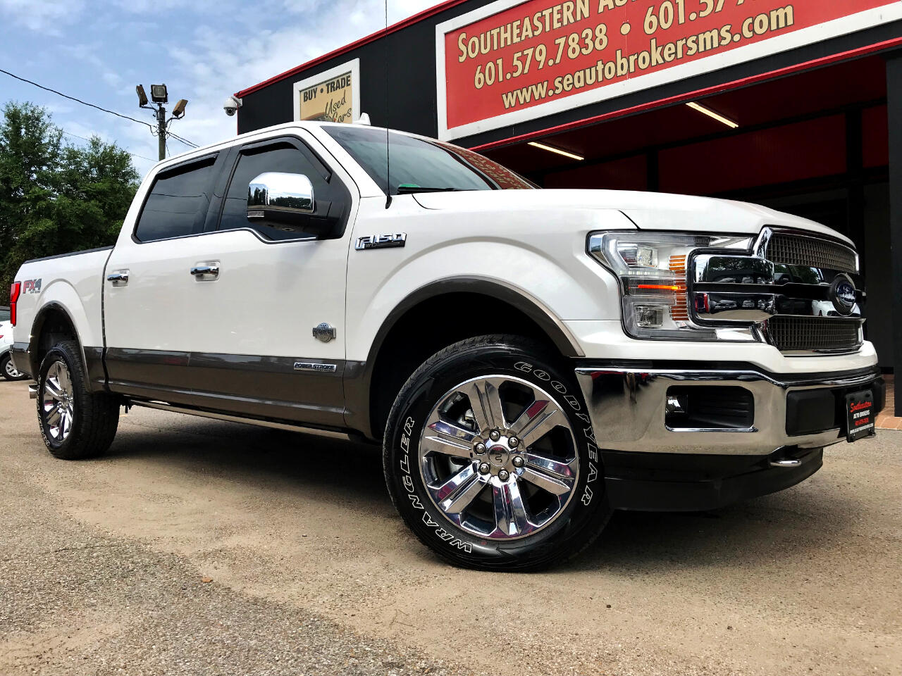 2018 Ford F-150 KING RANCH CREW CAB SHORT BED 4WD DIESEL