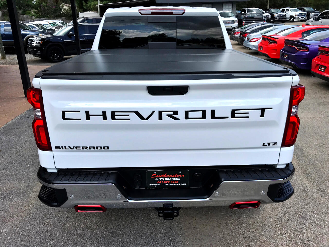 Southeastern Auto Brokers >> Used 2019 Chevrolet Silverado 1500 LTZ CREW CAB SHORT BED ...