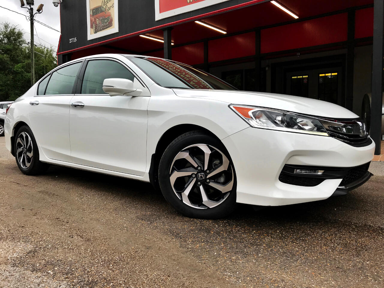 2017 Honda Accord EX-L Sedan V6 6-Spd AT