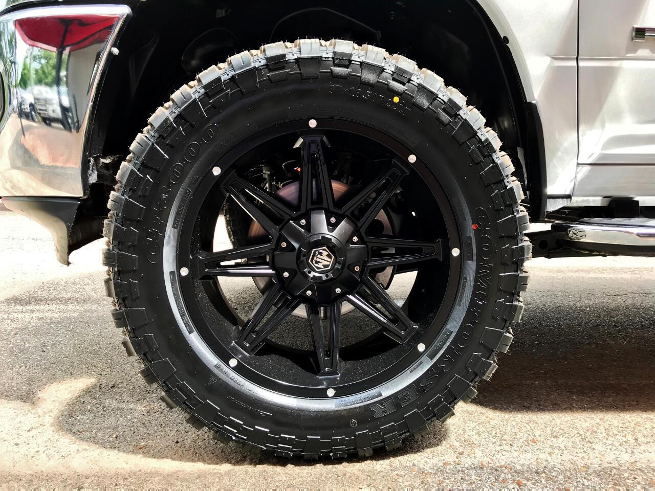 2019 RAM 2500 TRADESMAN CREW CAB SHORT BED 4WD CUSTOM LEVELED