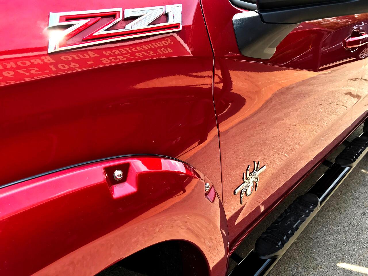 2019 Chevrolet Silverado 1500 RST CREW CAB 4WD SCA PERFORMANCE BLACK WIDOW CUSTO