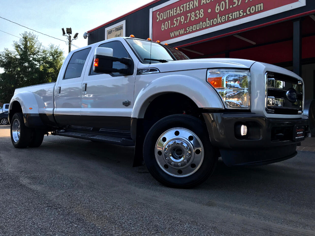 2016 Ford F-450 SD King Ranch Crew Cab DRW 4WD