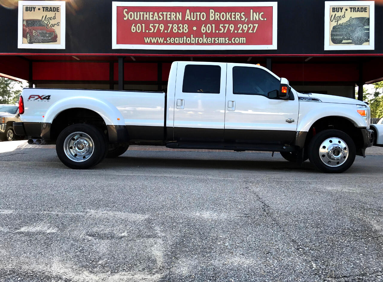 Ford F-450 SD King Ranch Crew Cab DRW 4WD 2016