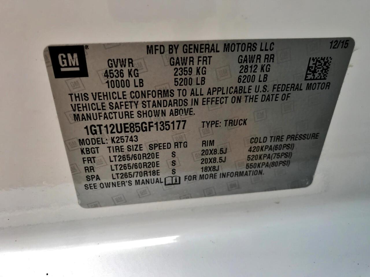 GMC Sierra 2500HD  2016