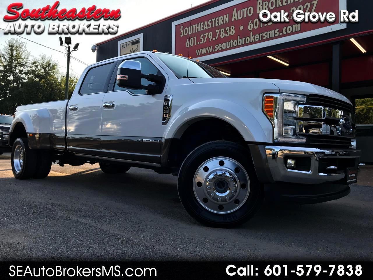2017 Ford F-450 SD King Ranch Crew Cab DRW 4WD