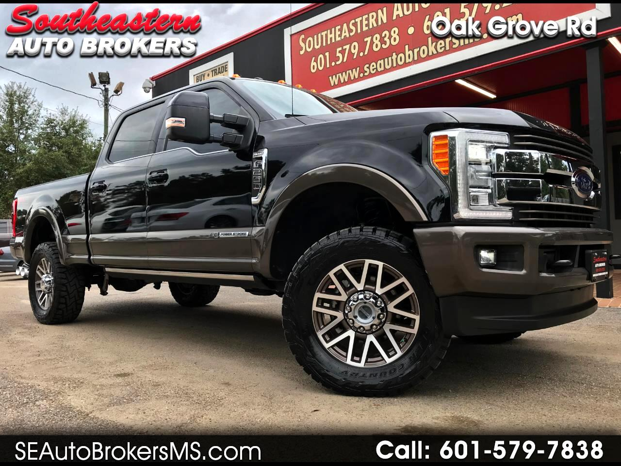 2017 Ford F-250 SD KING RANCH CREW CAB SHORT BED 4WD LEVELED