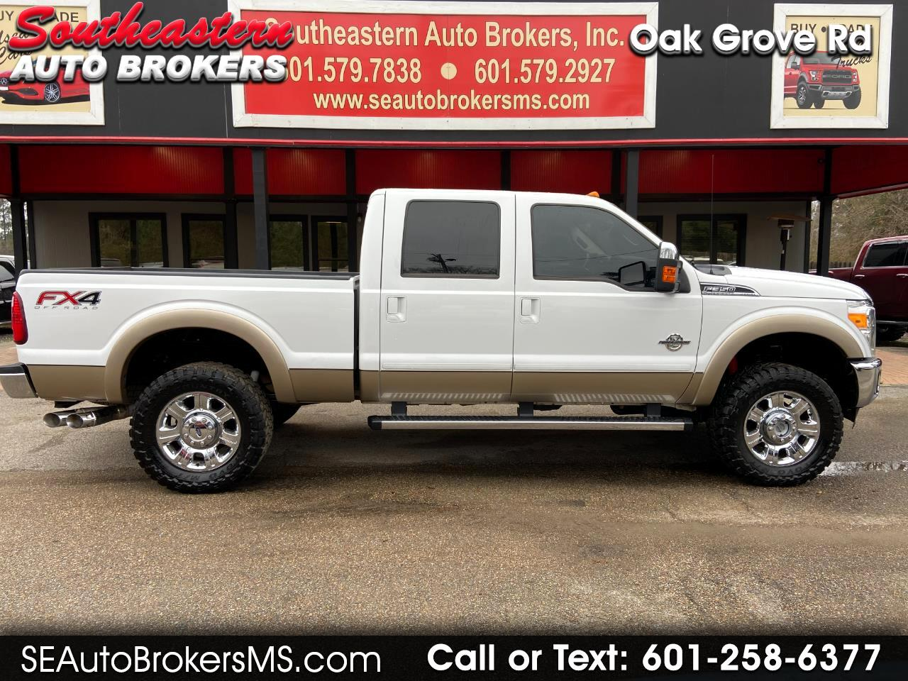 "Ford Super Duty F-350 SRW 4WD Crew Cab 156"" King Ranch 2013"