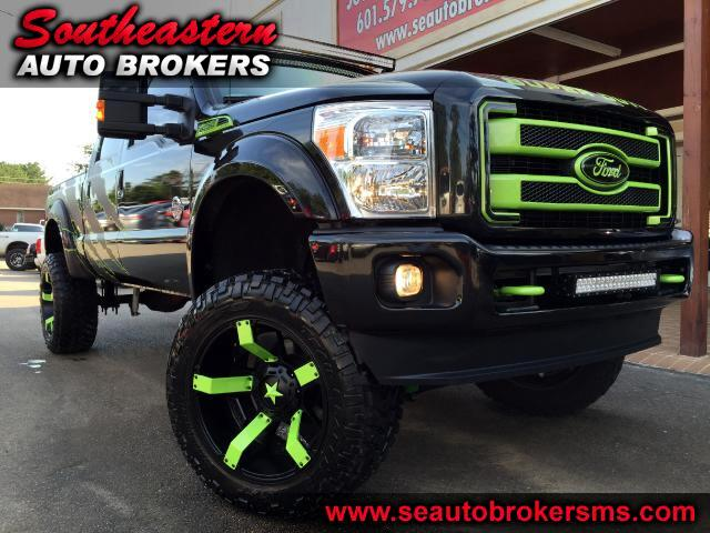 2015 Ford F-250 SD PLATINUM CREW CAB 4WD CUSTOM  LIFTED BEAST EDITION