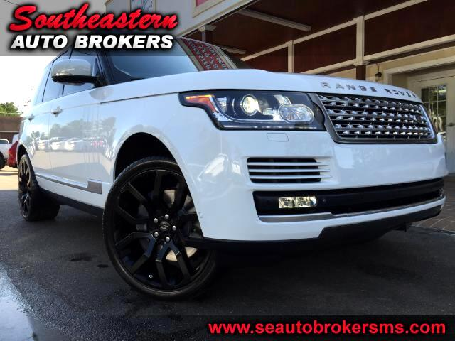 2013 Land Rover Range Rover HSE SUPERCHARGED