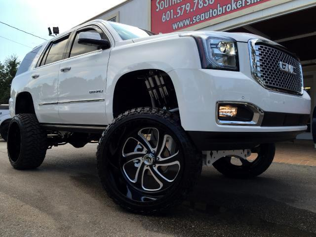 2015 GMC Yukon Denali 4WD CUSTOM LIFTED